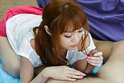 Sexy teen with perfect Asian tits, hardcore spectacle  Photo 2