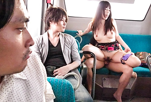 Chinatsu Kurusu Gang Fucked In  Pantyhose