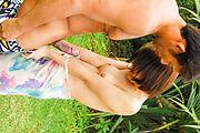 Fantasy Asian outdoor sex with petite Saya Tachibana Photo 8
