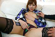 黒い網タイツのミラクル美巨乳 愛内梨花 Photo 3