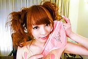 Maomi Nagasawa enjoys an asian squirting thanks to a vibrator Photo 8