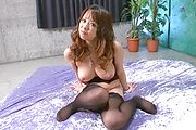 Asuka Takes A Rough Fucking In Her Stockings Photo 5