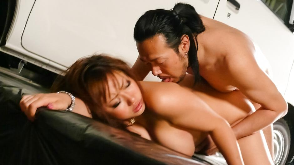 Horny japanese milf Neiro Suzuka entices him with her big tits