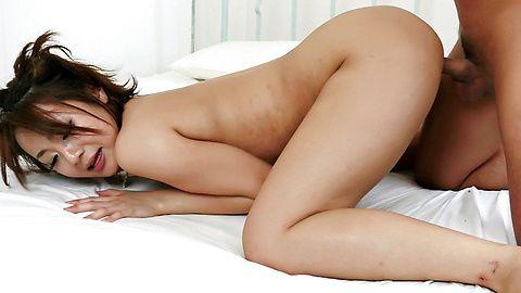 Yuu Shiraishi vibrator frenzy and cock drilling