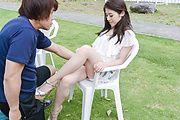 Sexy outdoor xxx porn scenes with sweet Kana Miyashita Photo 1