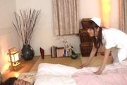 Hina Misaki in white stockings banged in group sex Photo 8