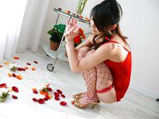 Hina Aizawa-Hina Aisawa on her knees swallows a long and hard shaft Picture 5