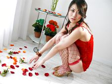 Hina Aizawa-Hina Aisawa on her knees swallows a long and hard shaft Picture 6