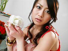 Hina Aizawa-Hina Aisawa on her knees swallows a long and hard shaft Picture 8