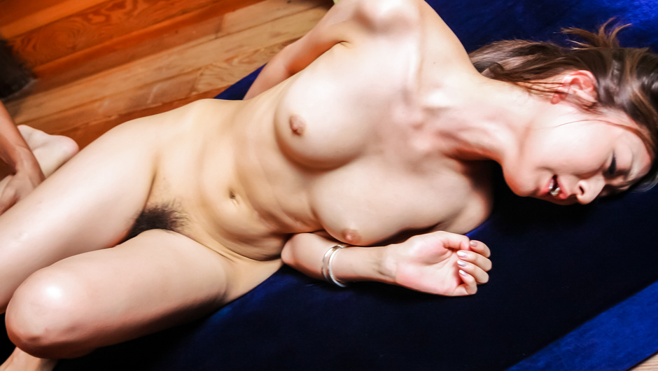 Girl with perfect Asian tits fucked hard and deep