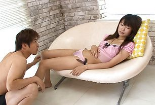 Yuuno Hoshi Gives A Great BJ And MILF Tit Fucking