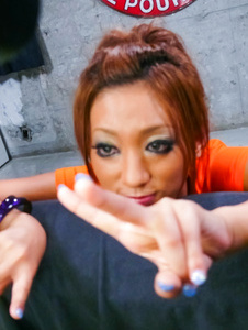 Hina Maeda-Vibrator action and facial cumshot Maeda Hina Picture 1