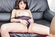 Steamy pleasures forSaki Kobashi's shaved pussy Photo 8