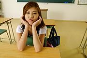 Yura Kasumi Fucks Her Teacher In The Middle Of Class Photo 3