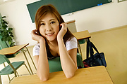 Yura Kasumi Fucks Her Teacher In The Middle Of Class Photo 4
