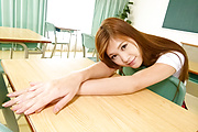 Yura Kasumi Fucks Her Teacher In The Middle Of Class Photo 5
