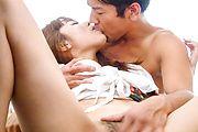 巨乳若奥様園咲杏里~膣奥射精! Photo 7