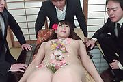 Slim Asian milf gets to suck cocks until exhaustion  Photo 3