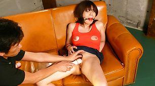 Asian milf,Karen Natsuhara, obeys in nasty porn play