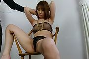 Babe's hairy Asian pussy is in for a steamy adventure  Photo 2