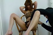 Babe's hairy Asian pussy is in for a steamy adventure  Photo 9