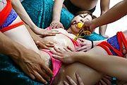 Pussy rocking toy sex bondage Yukina Momose Photo 9