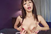 Marika shows off in Asian lingerie, masturbating in solo Photo 10