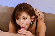 Asian lingerie babe sucks cock in full XXX scenes  Photo 10