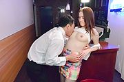 Asian milf with nice ass devours cock in full hardcore Photo 3