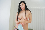 Busty young babe hard fucked during casting  Photo 2