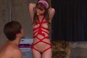Sana Anzyu squirting in pure asian bondage porn scene  Photo 1