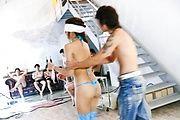 Japanese lingerie model goes wild on tasty cocks Photo 1