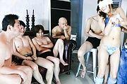 Japanese lingerie model goes wild on tasty cocks Photo 2