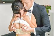Asian milf in heats rides cock in rough manners Photo 3