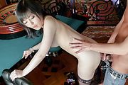Hikaru Kirameki having superb asian hardcore sex Photo 12