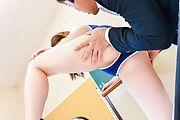 Teen receives teacher's dick inside her hairy Asian cunt Photo 8