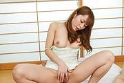 若奥様介護口内射精プレイ~園咲杏里 Photo 5
