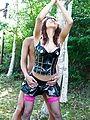 Asuka Ishihara has japan outdoor sex with two guys Photo 1