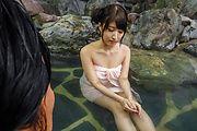 Saki Kobashi hairy Asian pussy stimulated on cam Photo 6