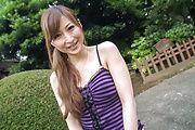 Outdoor Japanese street porn with Reira Aisaki Photo 12