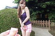 Outdoor Japanese street porn with Reira Aisaki Photo 8