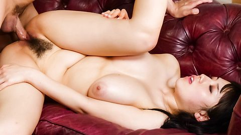Azusa Nagasawa's Big Teen Tits Makes Him Fuck Her Harder