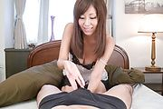 Big tits beauty deals cock in superb oral modes Photo 7