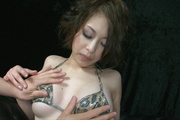 Horny MILF Saki Ootsuka Squirts From Vibrations Photo 6