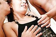 Mio Hiragi MMF hardcore sucking and banging Photo 7