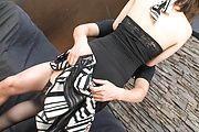 Horny MILF Sayaka Tsuzi In Thigh Highs Fucked Hard Photo 3