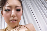 Perfect blowjob and cum on tits for Yuki Asami Photo 7
