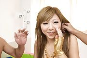 MILF Hazuki Rui Takes A Deep Double Penetration Photo 2