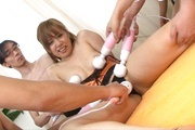 Asian milf sex in group with appealing Yurina Photo 6