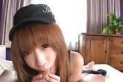 Great POV cock sucking video with Sana Anzyu Photo 4